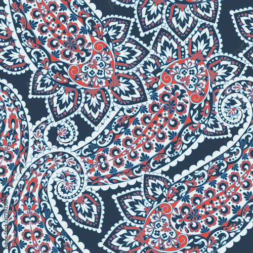 Seamless Paisley pattern. - 175929694