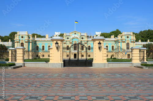Foto op Canvas Kiev Mariinsky Palace in Kiev