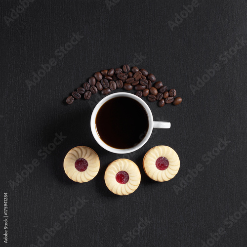 Coffee and cookies Poster