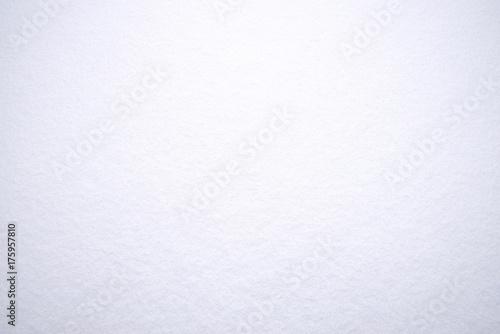 Plakat White snow background