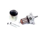 Repair starter motor for motorcycle on white - 175969884
