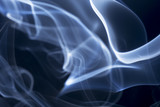 Abstract smoke on black background. - 175975461