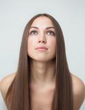 Brunette girl with long hair - 175988205
