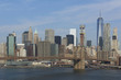 Brooklyn Bridge and New York city in the background - 175988683
