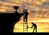 Concept of business success and the envy of rival - 175991057