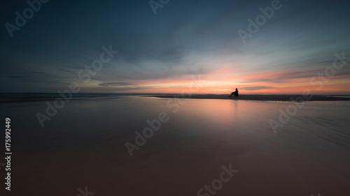 Keuken foto achterwand Zee zonsondergang Der Stille Moment
