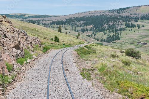 Staande foto Spoorlijn Tracks