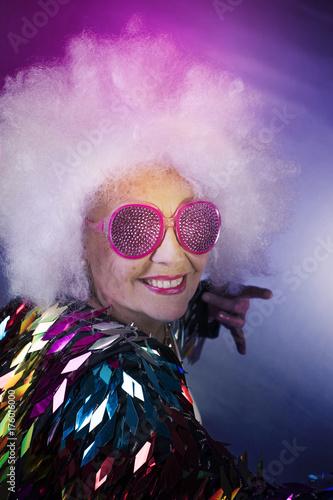 grandma partying - 176016000