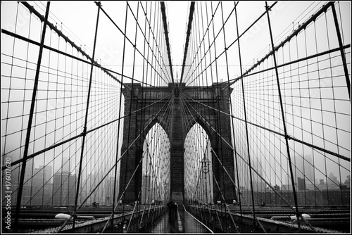 Foto Murales Brooklyn bridge