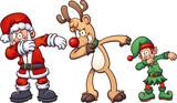 Dabbing Christmas ch...