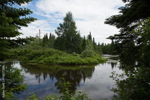Spoed canvasdoek 2cm dik Canada Quebec Park