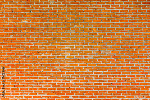 Spoed canvasdoek 2cm dik Baksteen muur Pattern of old brick wall for background and textured, Seamless dirty brick wall background