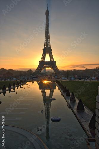 Tuinposter Eiffeltoren France