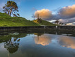 one tree hill reflection, Auckland, New Zealand