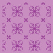 Seamless abstract floral pattern - 176044665