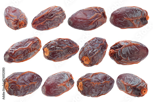 Poster Sweet dried date fruit collection