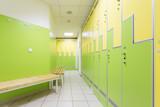Locker room in hotel gym - 176054600