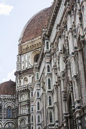 Tuinposter Florence FIRENZE, ITALIA - LUGLIO 25, 2017: il Duomo di Santa Maria del Fiore - Toscana