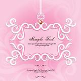 wedding card or invitations with mandala pattern - 176055263