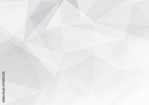 Poster Modern low poly abstract halftone triangular background