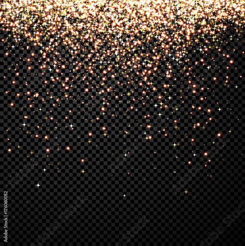 Black abstract shining Christmas background.