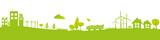 Bannière paysage ville et campagne - 176063012