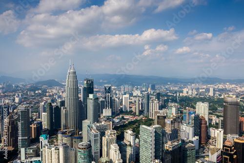 Kuala Lumpur cityscape Poster