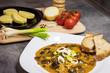 Czech traditional food - mushroom goulash - 176072675