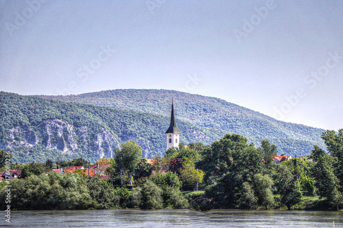 In de dag Blauwe hemel Hungary
