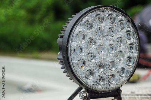 super bright LED spot light, high luminosity . Poster