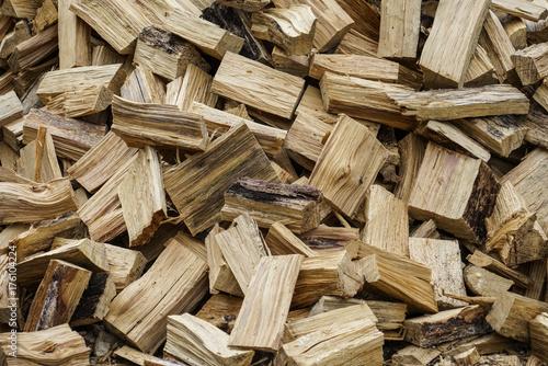 Spoed canvasdoek 2cm dik Brandhout textuur firewood