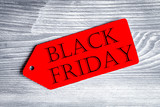 concept black friday on wooden background top view - 176104880