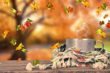 wohltuender Tee im Herbst - 176111025