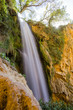 waterfalls of the natural park of the monastery of Piedra, in the Spanish aprovince of Aragon - 176124433