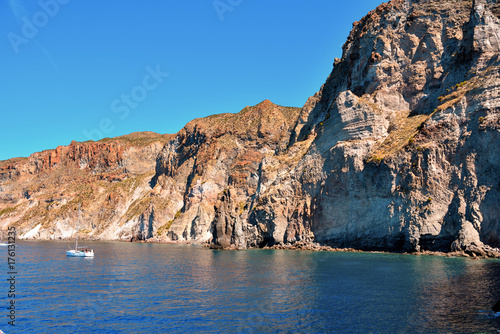 islands of Lipari archipelago Eolie Sicily Italy