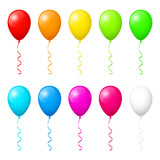 Colorful balloons - 176133067