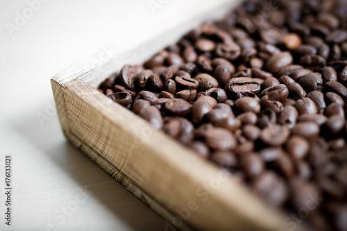 Poster Koffiebonen Kaffeebohnen