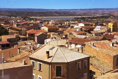 old town of Caspe, Spain