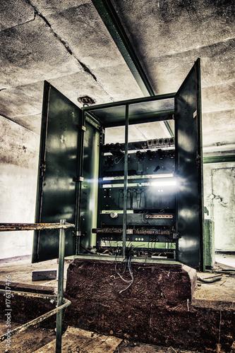 Aluminium Oude verlaten gebouwen LostPlace