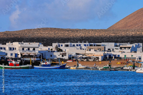 Papiers peints Iles Canaries Landscape in Tropical Volcanic Canary Islands Spain