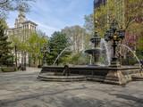 New York City Hall Fountain