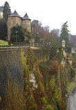Fortification in Luxembourg city - 176151062