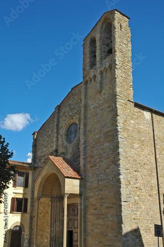 Deurstickers Toscane Arezzo, la chiesa di San Domenico