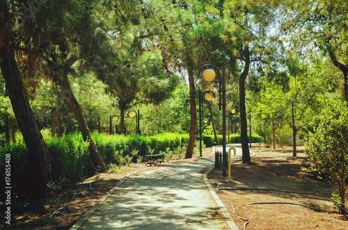 Fotobehang Cyprus Presidential Park in Nicosia, Cyprus in October