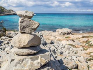 Steine am Mittelmeer