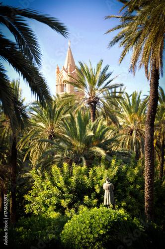 Keuken foto achterwand Palermo English Garden of Palermo