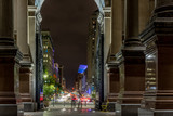 Fototapety Broad Street Philadelphia seen from City Hall