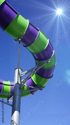 Deurstickers Amusementspark Water Park