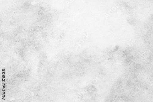 Gray abstract watercolor painting textured on white paper background