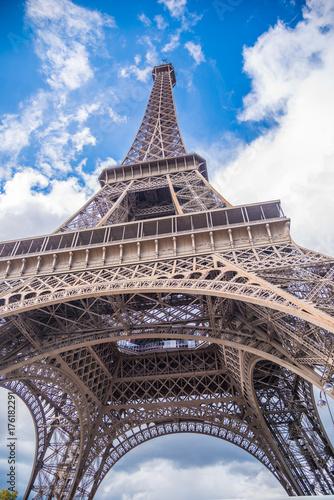 Tuinposter Eiffeltoren Paris